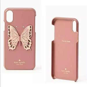 Kate Spade Butterfly Case iPhone Xs Max